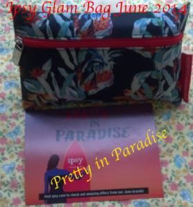 Ipsy Glam Makeup Bag for June 2014