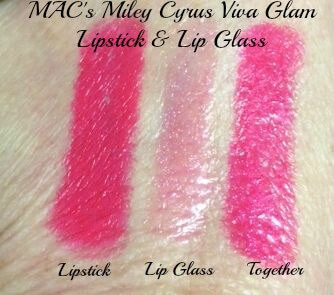 Miley Cyrus MAC Viva Glam Swatches