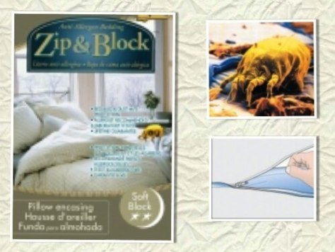 Zip & Block Anti-Allergen Pillow Protectors