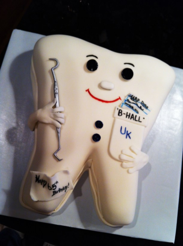 Dental Themed Tooth Cake Beth Ann S