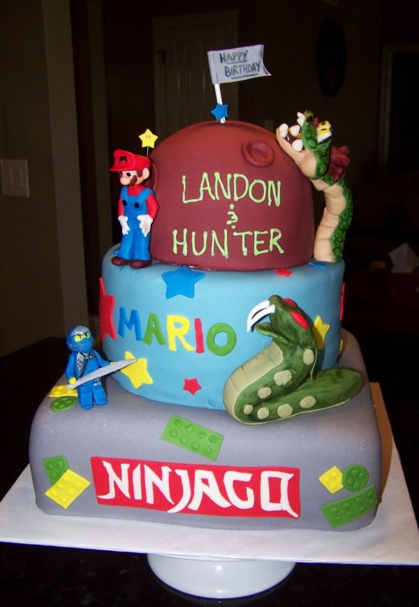 Boys Birthday Cake Kids