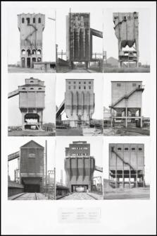 Coal Bunkers 1974 Bernd Becher and Hilla Becher 1931-2007, born 1934 Purchased 1974 http://www.tate.org.uk/art/work/T01923