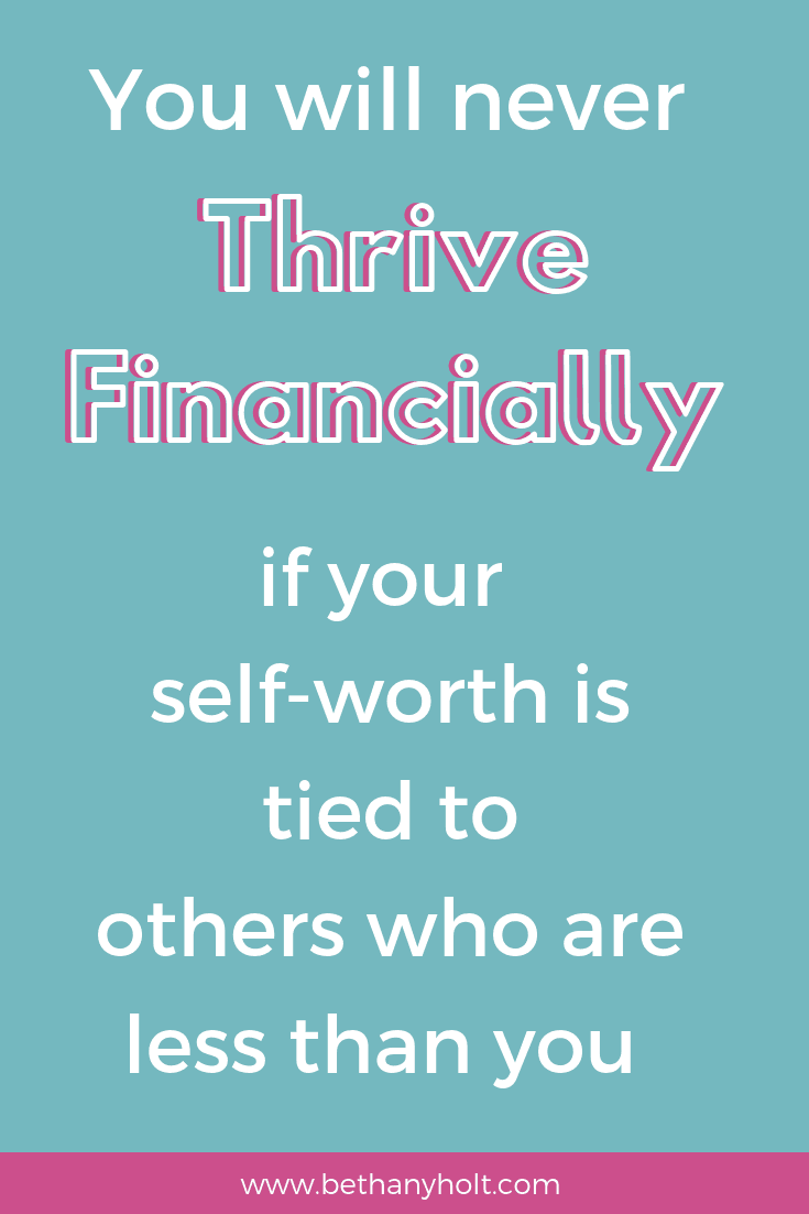 Be financially empowered and learn how to thrive financially