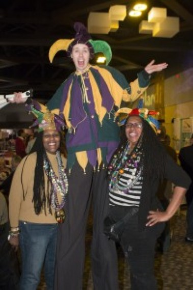 MardiGras 2015 - Photograph by Bruce Crippen