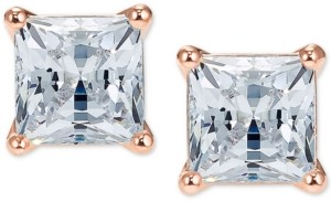 swarovski rose gold studs - Your Best Holiday Style