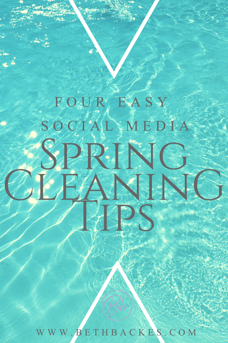 These are my 4 favorite tips to clean up my phone habits each spring. It's always nice to start the summer off fresh with new passwords, follower lists, and app organization.