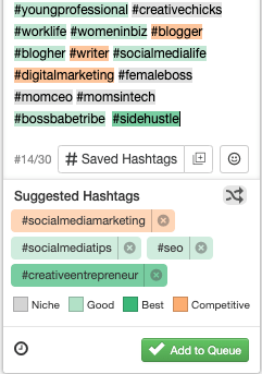 If you're doing social media right, your content is going to vary. Not every post will have the same content, so there will never be that one magic hashtag. Find out how to best manage your hashtags to save you time and energy!