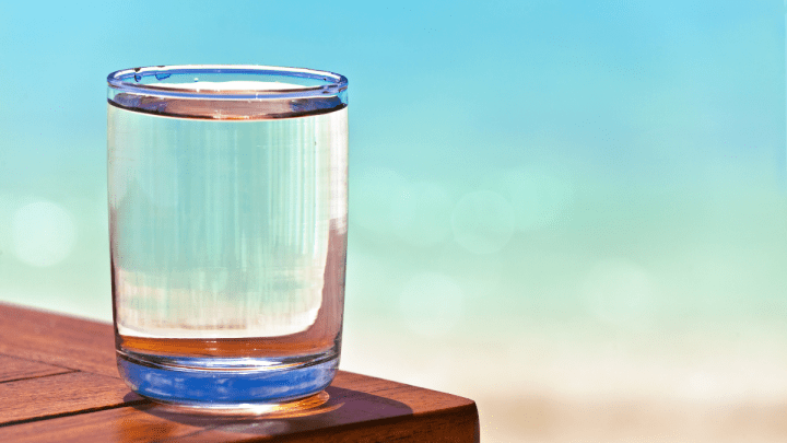 A glass of water can change your life.