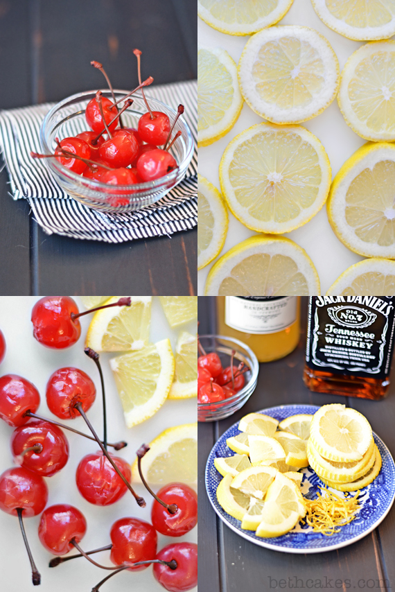 Whiskey Sour Cupcakes from bethcakes.com! Fun for Super Bowl parties, or really any time.