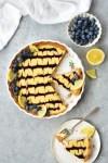 blueberry-lemon tart - bethcakes.com