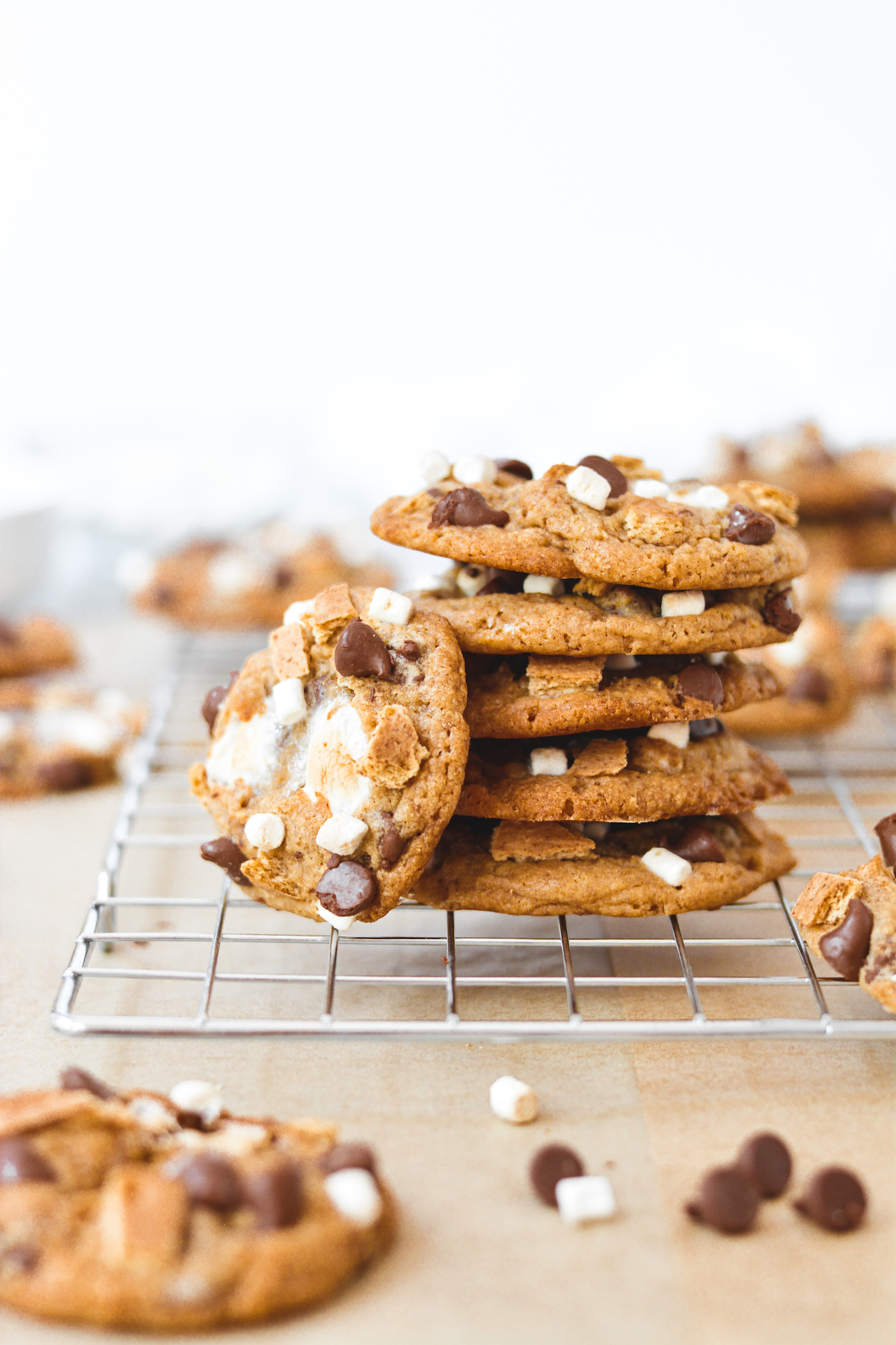 the ultimate s'mores cookies - bethcakes.com