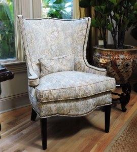 Paisley Club Chair