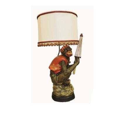 Antique Monkey Lamp