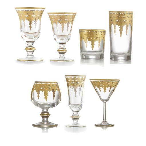 Arte Italica Vetro Gold Collection