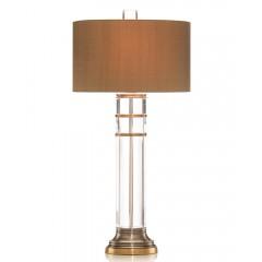 Oval Crystal Cylinder Lamp