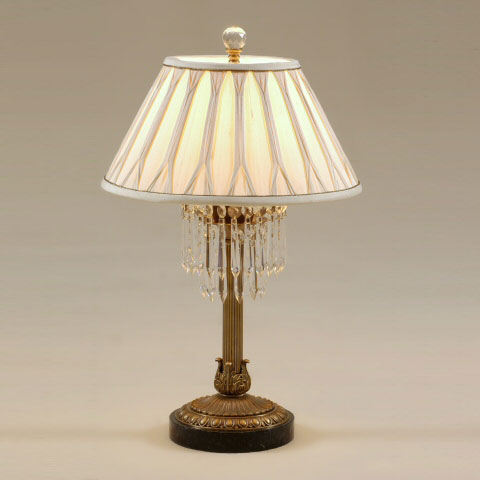 Antique Brass Finished Table Lamp