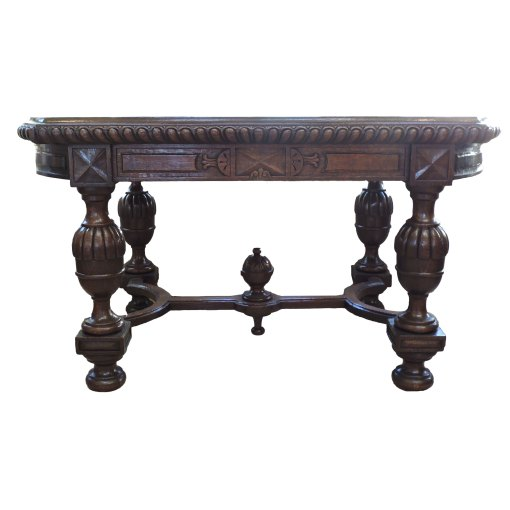 French Library Table