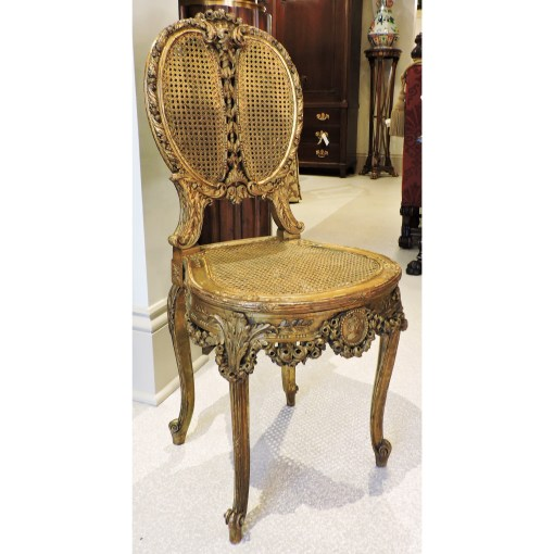 Giltwood Single Chair