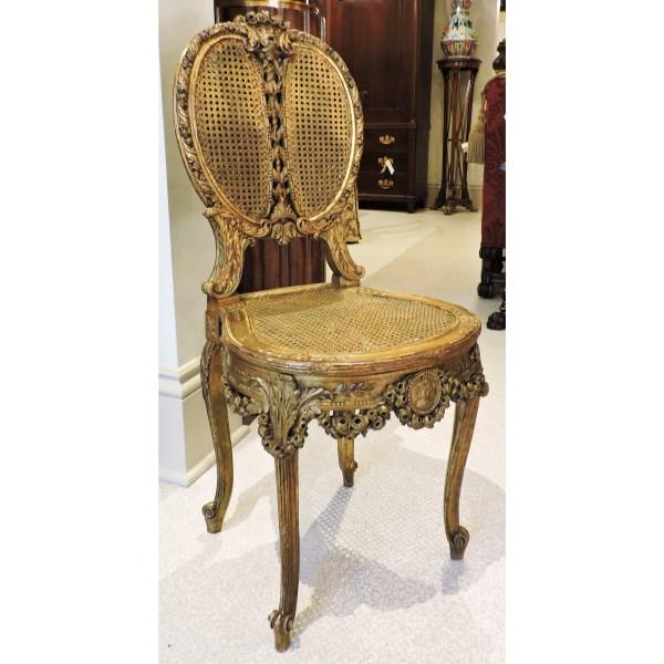 Giltwood Single Chair