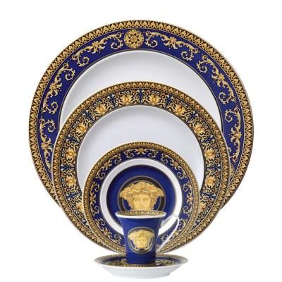 Versace Medusa Blue Pattern
