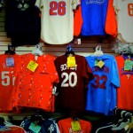 Old School Phillies Shirts at Booths Corner