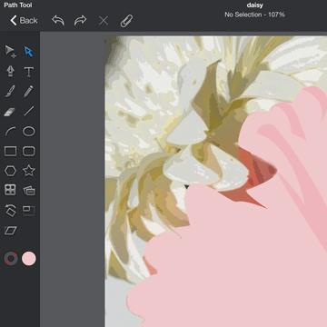 iDraw, an iPad art app