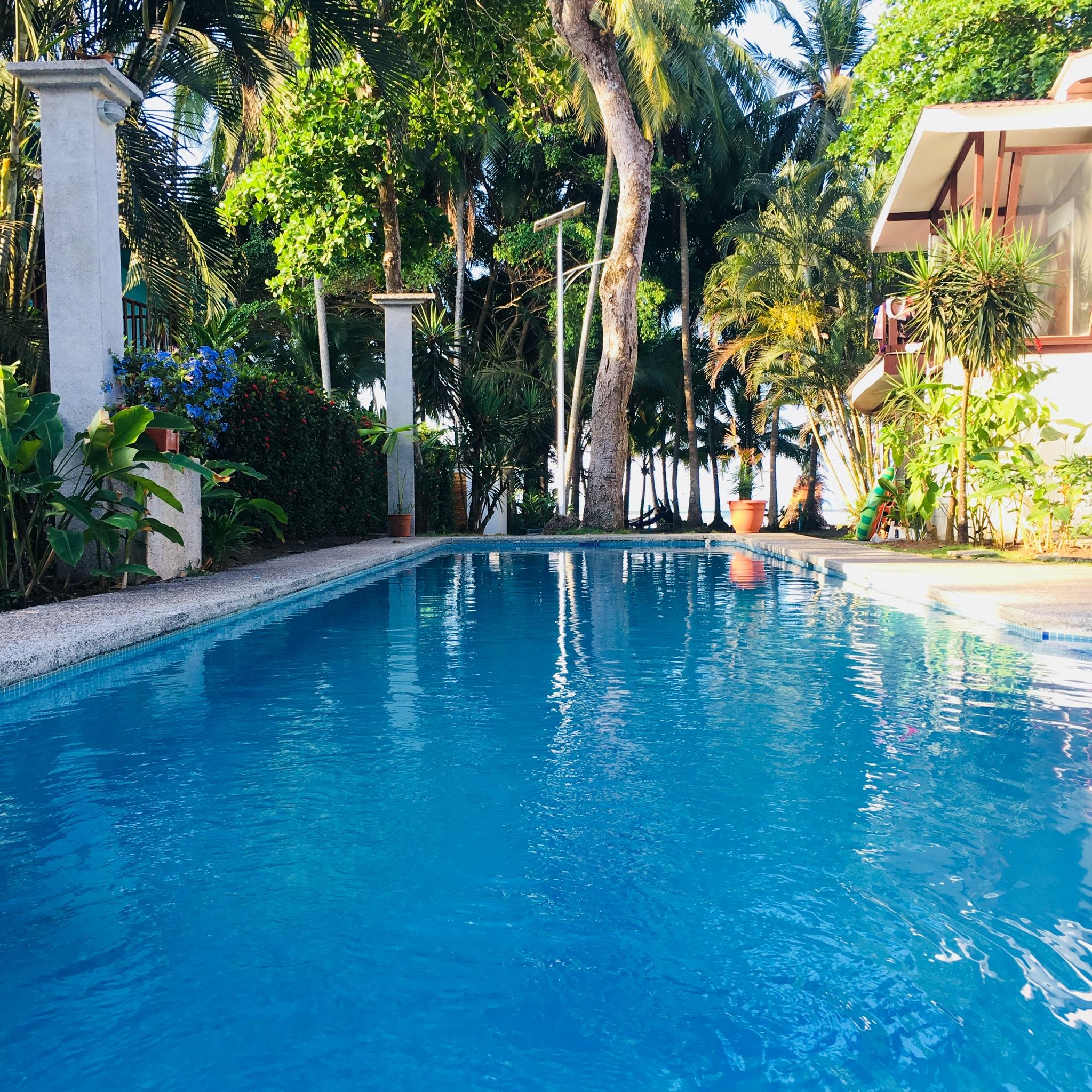 Private pool at the Hotel Pelicano