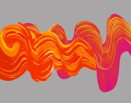 Vector Brushstroke Art