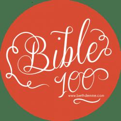 Bible 100 Logo