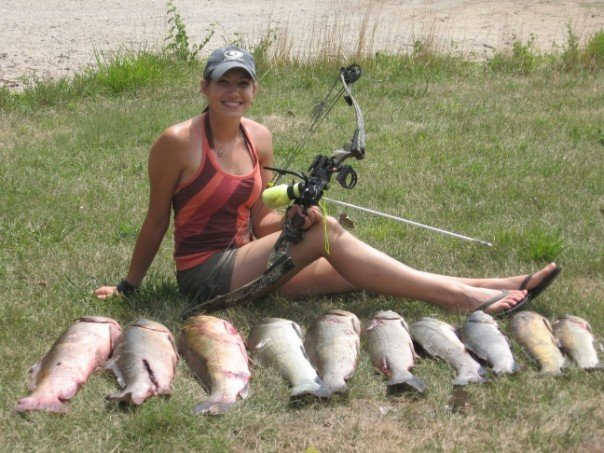 A good day of bowfishing!