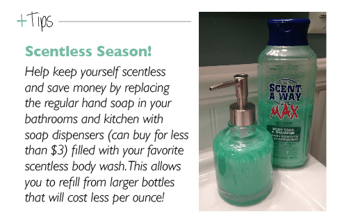 Tips: Scentless Season