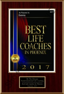 award - transformational life coaching and professional services