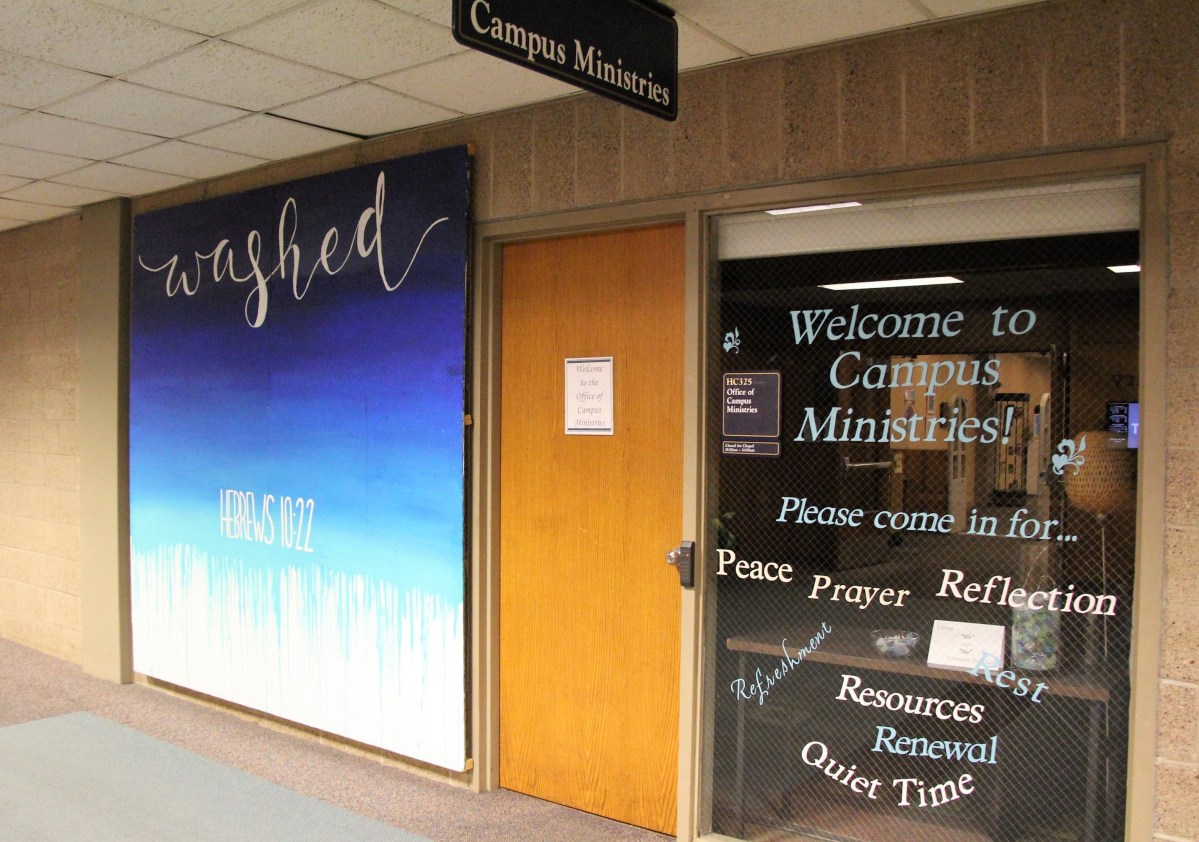 Campus Ministries' response to the missing chapel audio