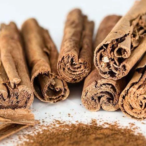 sweet cinnamon powder