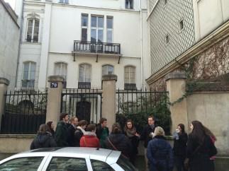 Ezra Pound's former Paris apartment