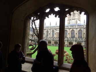 The cloister of Magdalen College, Oxford