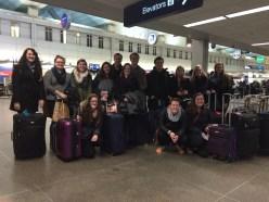 Our pre-departure group portrait