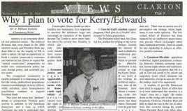 GW's endorsement of John Kerry in 2004