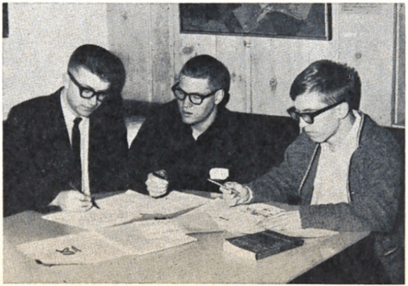GW helping plan Political Emphasis Week in March 1964
