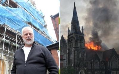 Church Fire: One Year On