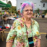 Bethel Lutheran Block Party Woman Smiling