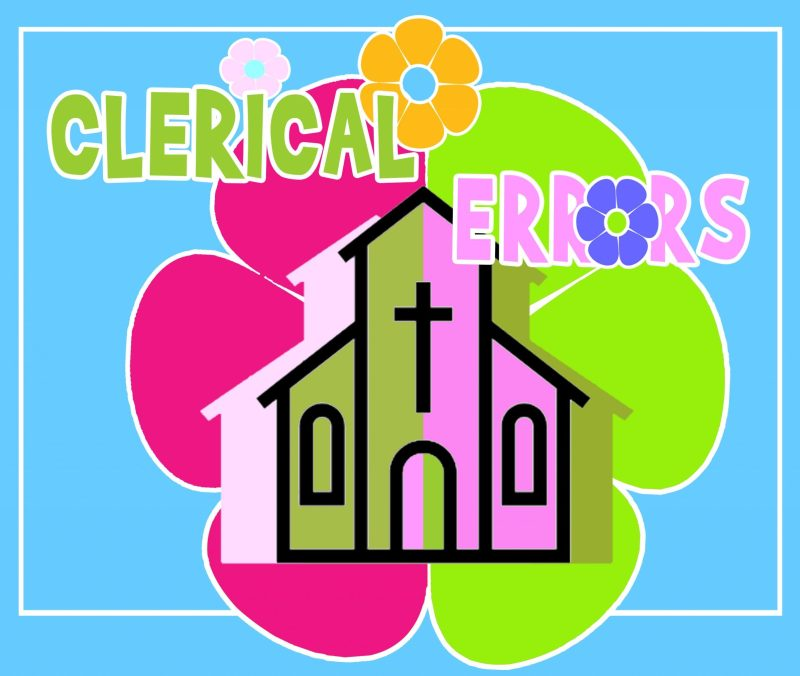 Clerical Errors Play