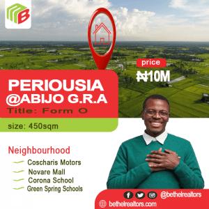 buy land in abijo gra
