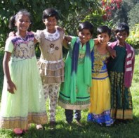 Girls at the Bethania Shalom Home
