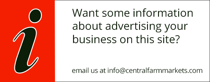 Advertise your business on Central Farm Markets website