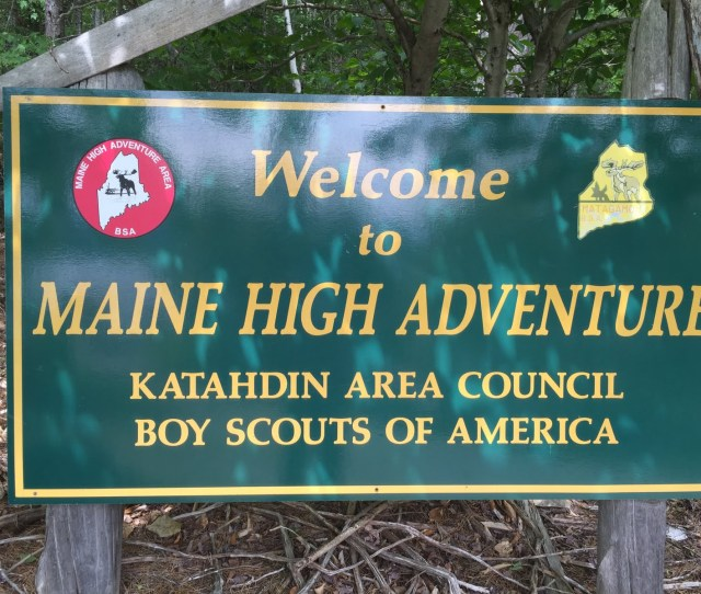 In July 2016 Several Scouts And Leaders From Bethesdas Troop 233 Headed To The Backwoods Of Northwestern Maine For Wilderness Canoeing And Hiking