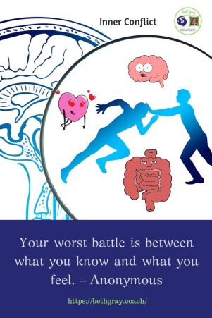 """""""Your worst battle is between what you know and what you feel."""" Anonymous"""