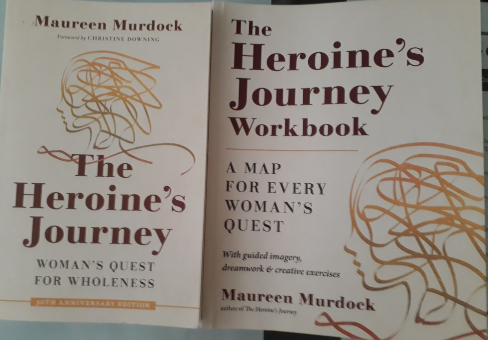 the heroine's journey, maureen murdock, book club, workbook, study group, accountability, guided imagery, creative exercises