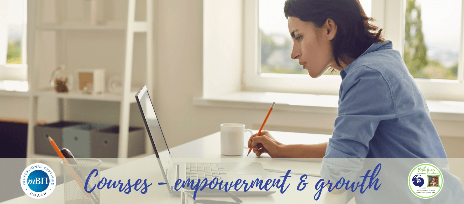 courses, online course, empowerment, growth, transformation, change