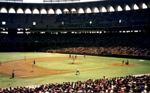 Cardinal baseball at Old Busch Stadium